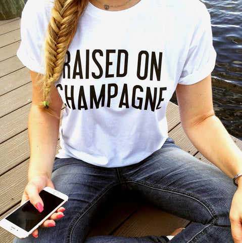 RWDZ x Outfit of Love Raised on Champagne T-Shirt