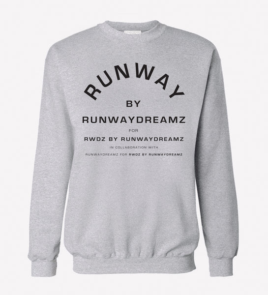 RUNWAY by RUNWAYDREAMZ Gray Sweatshirt