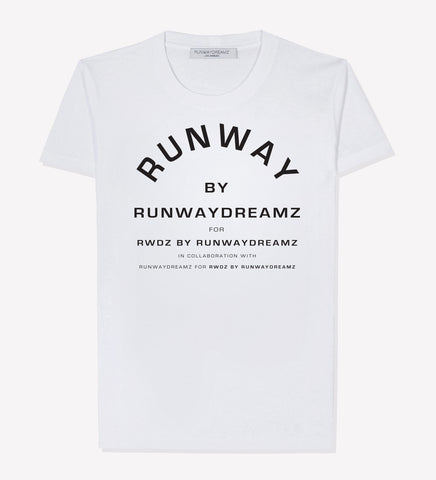 RUNWAY BY RUNWAYDREAMZ White T-Shirt