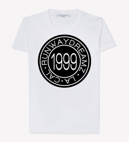 1999 Medallion White Tee Shirt