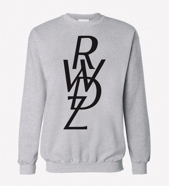 Signature RWDZ Icon Logo Gray Sweatshirt