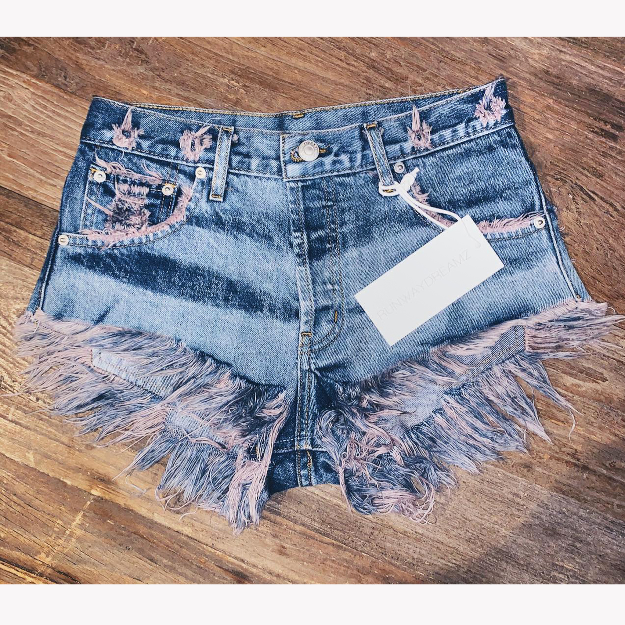 Sand And Sea High Waisted Babe Shorts