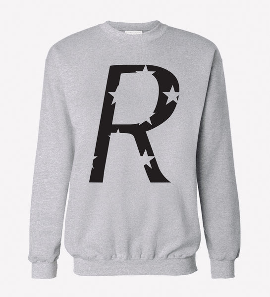 We R Stars Heather Gray Pullover Sweatshirt