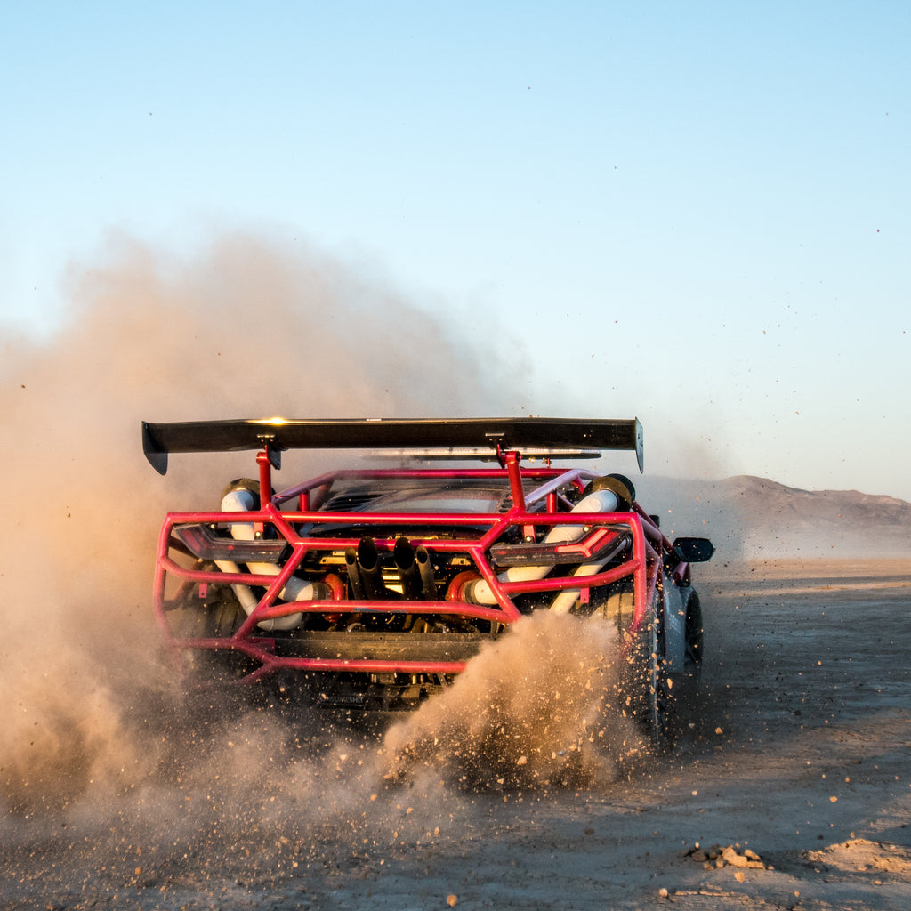 This Lamborghini Huracan Rally Car Is Ready For Off Roading