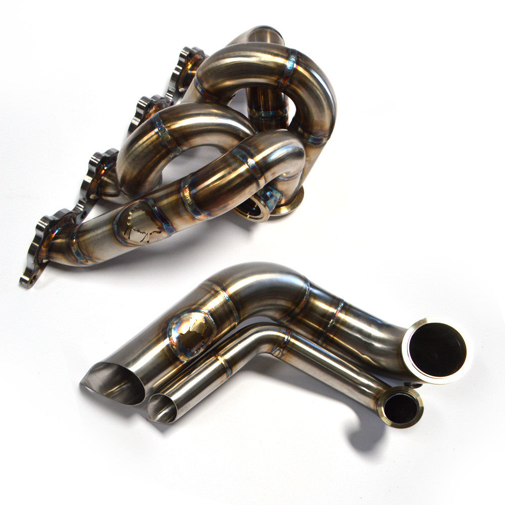SheepeyRace EVO 8/9 Single Scroll Forward Facing Up Pipe Hot Parts Kit