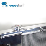 Sheepey Built x CSF - Full-Size Radiator & Fan Kit (Mitsubishi Evo 7 8 9)