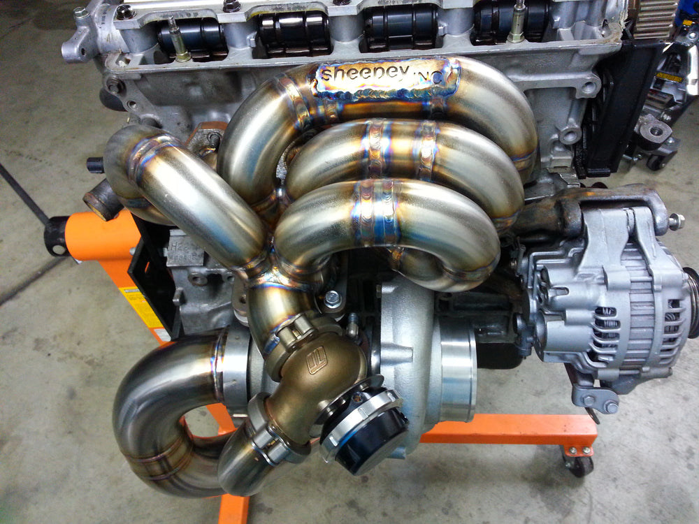 Sheepey Race - Honda H22 H2B Bottom Mount Turbo Manifold