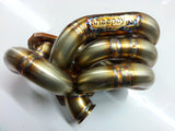 Sheepey Inc - Honda H22 H2B Bottom Mount Turbo Manifold