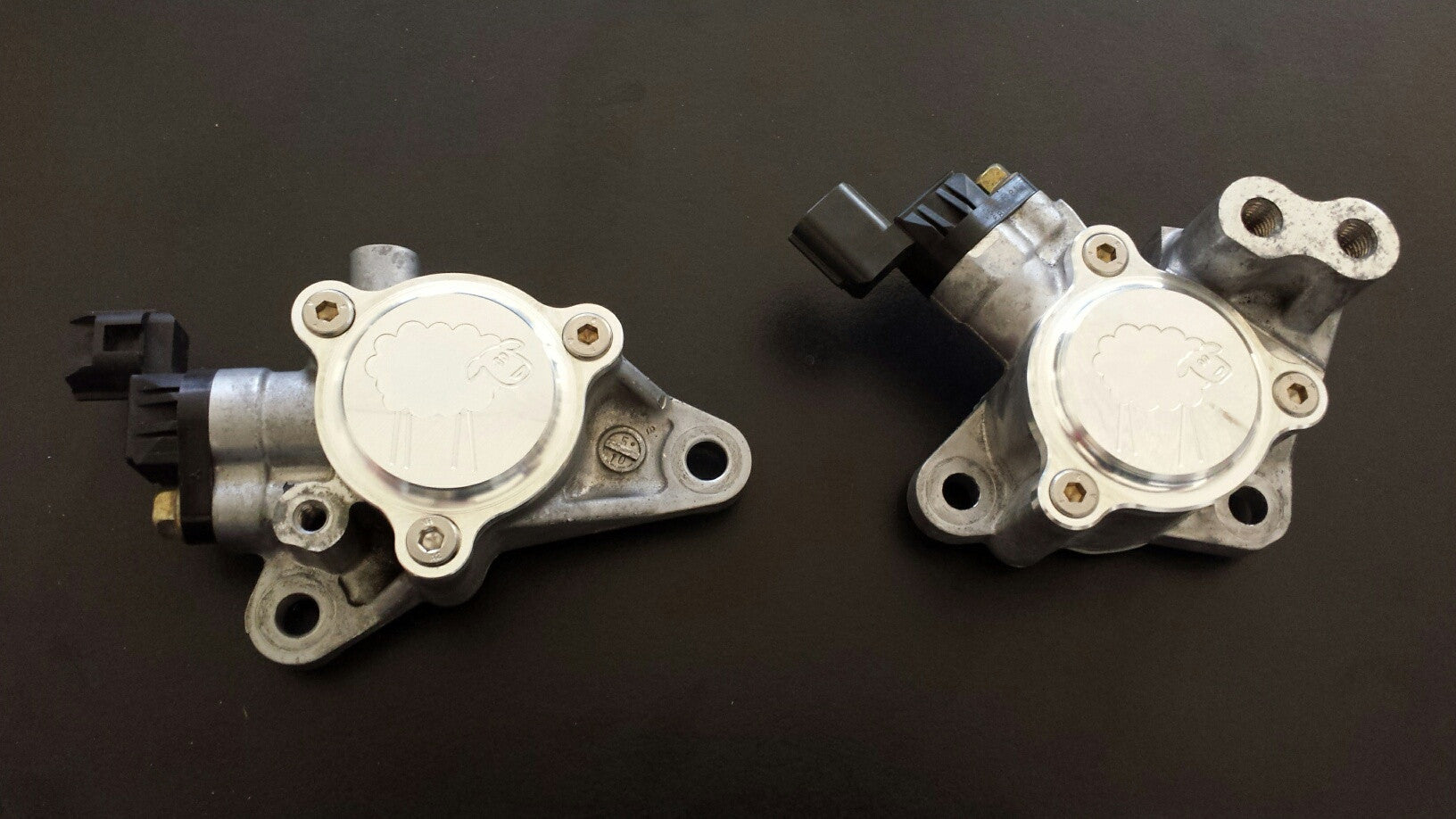 Sheepey Race - Mitsubishi EVO 9 Billet Cam Positioning Sensor & MIVAC Cover Combo