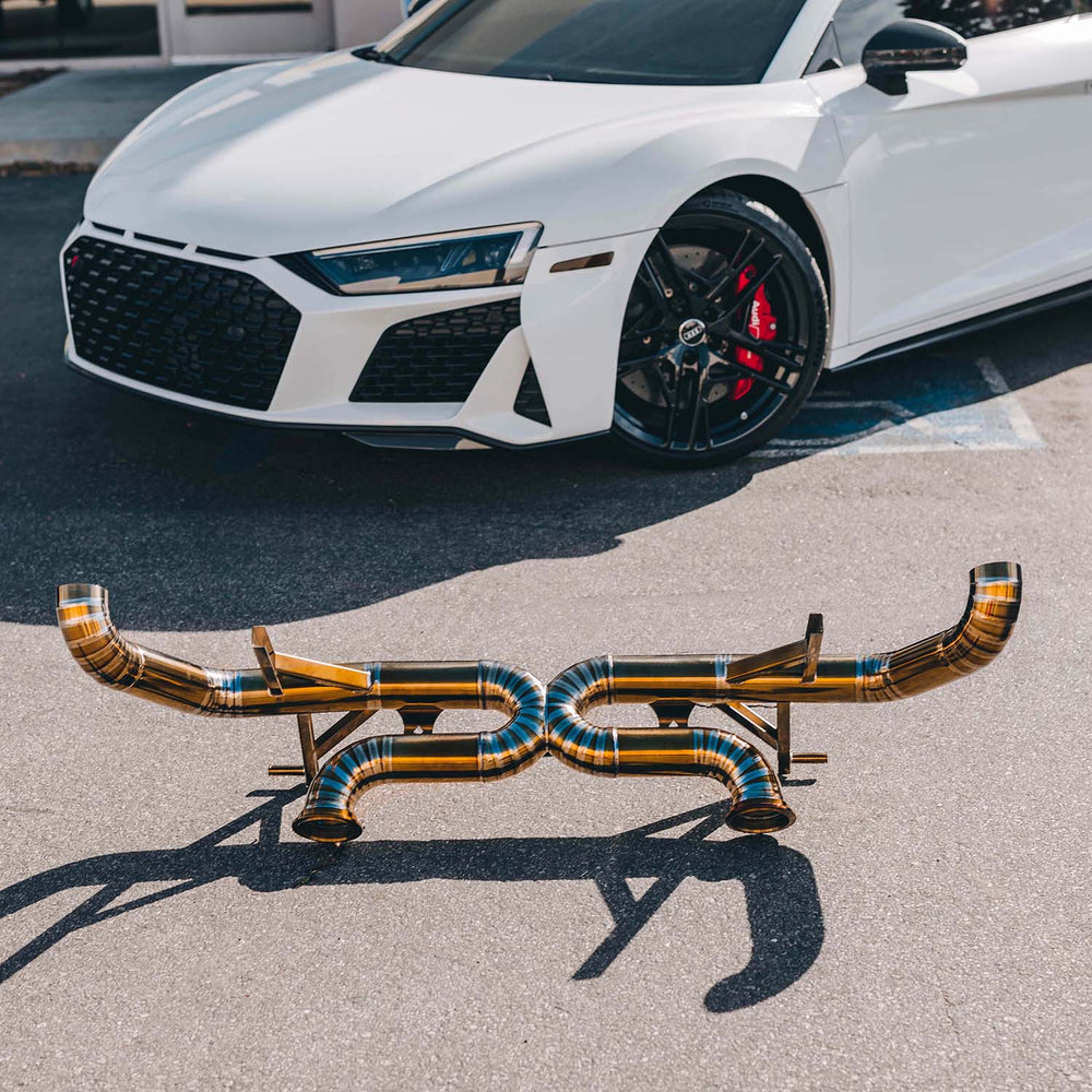 Load image into Gallery viewer, Audi R8 Titanium Race Exhaust 20+