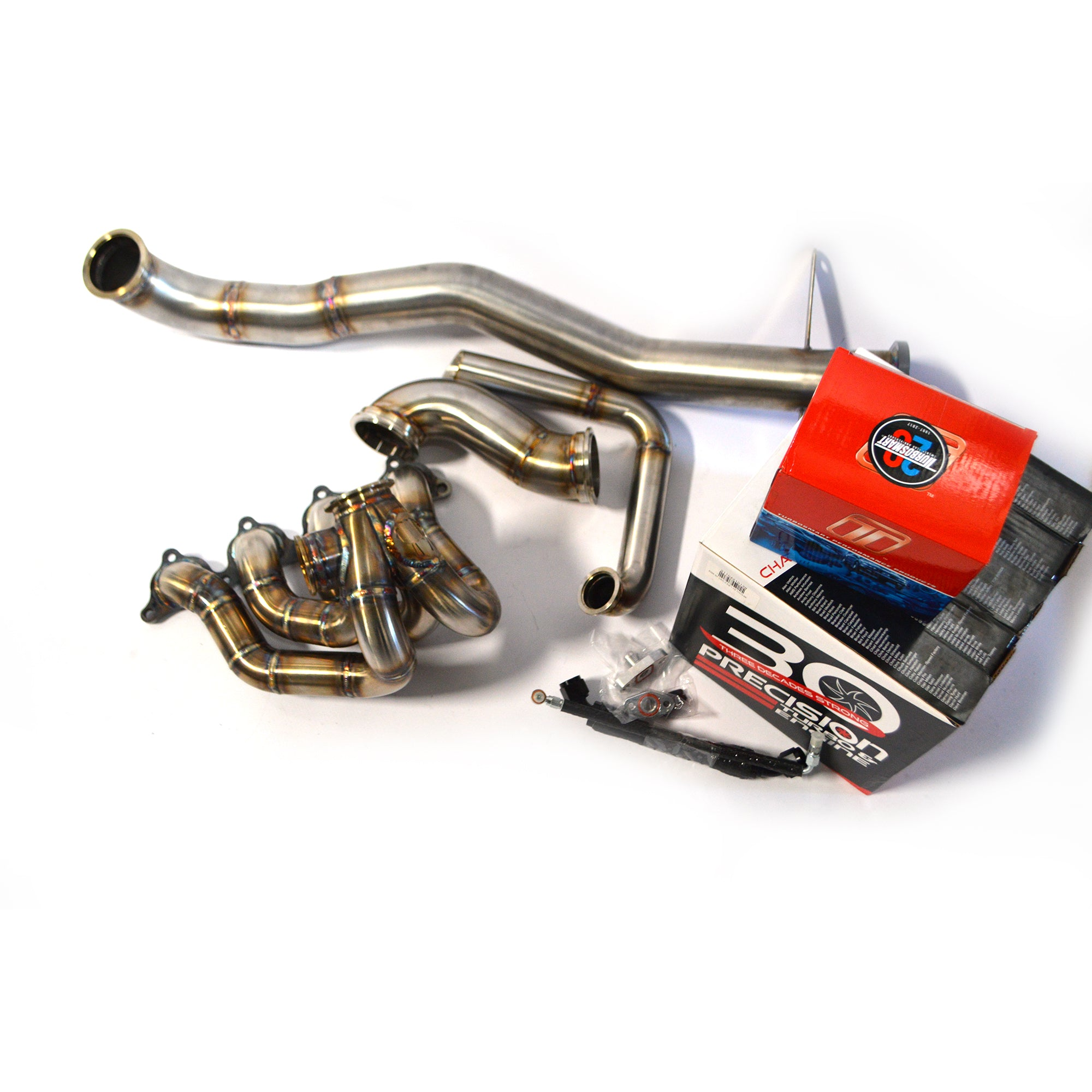 Sheepey Race - EVO 8/9 V-Band Top Mount Turbo Kit