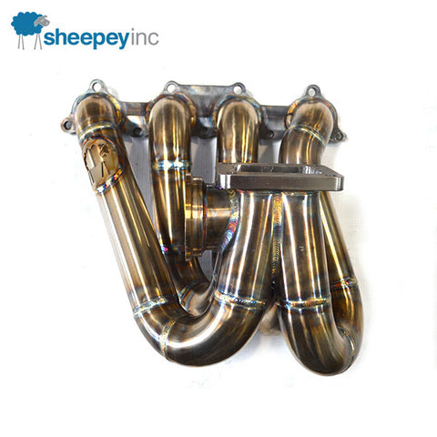 Sheepey Inc. - Honda/Acura B Series Top Mount Turbo Manifold