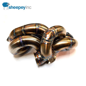 Load image into Gallery viewer, SheepeyRace Mitsubishi EVO 8/9 Turbo Manifold