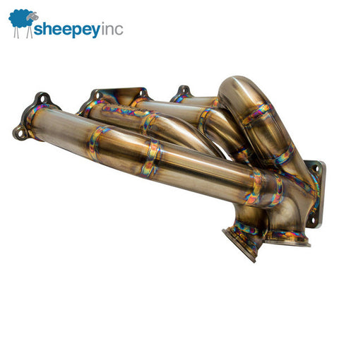 Sheepey Inc. - Honda/Acura B/D Series Twin Scroll Mini Outlaw Turbo Manifold
