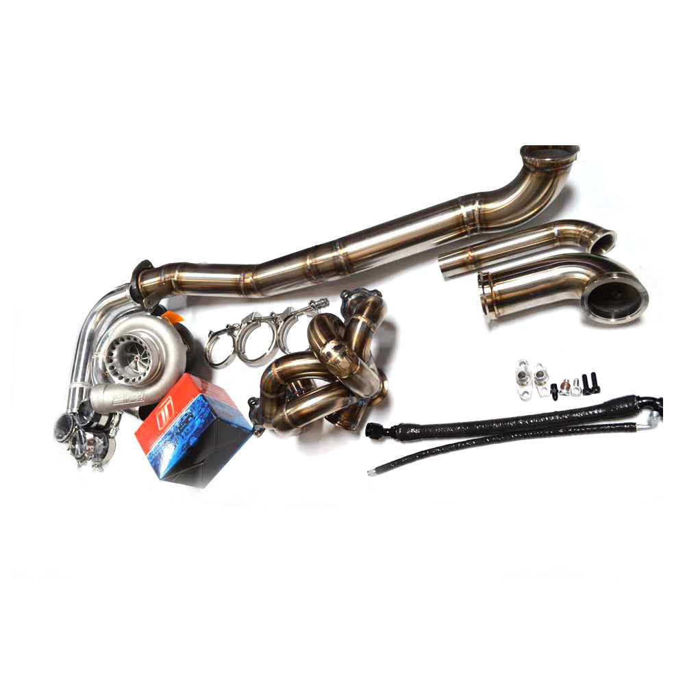 Sheepey Inc - EVO 8/9 V-Band Bottom Mount Turbo Kit