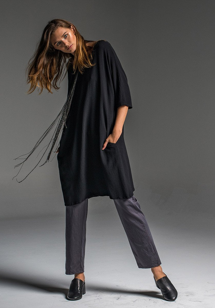 The Avril Dress... New style, new way to use Viscose crepe.