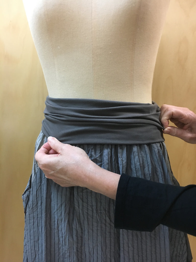 How To Wear- our fold over stretchy waistbands