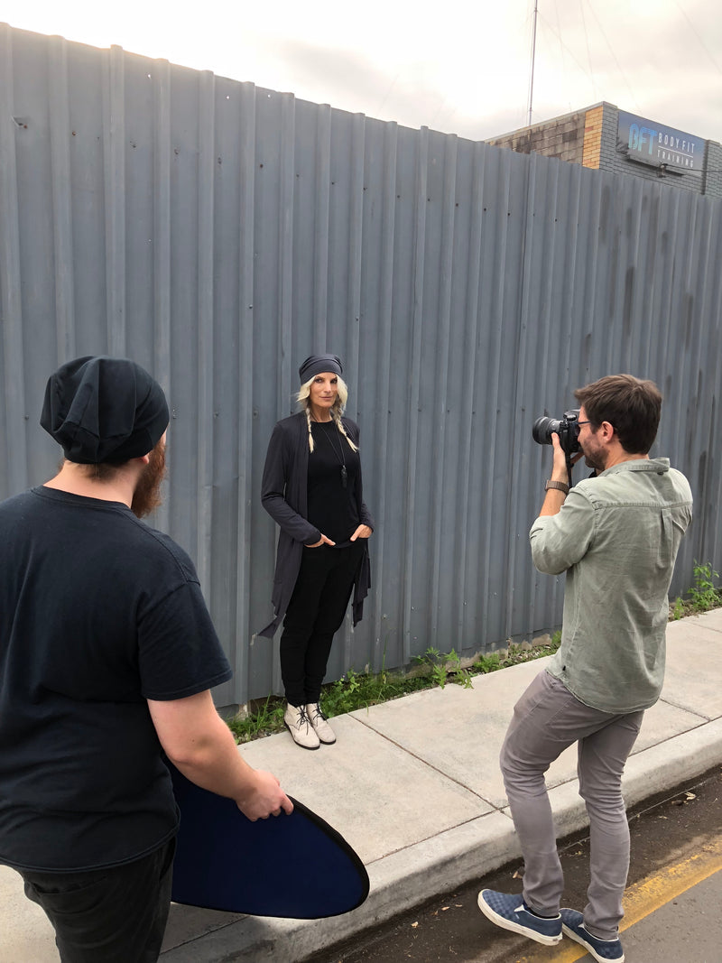 Behind the Scenes at the RANT Remedy Pt 2 photo shoot