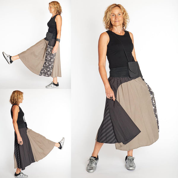 ethically made tencel skirts, tencel fabric, sustainable fashion online, ethical clothing australia