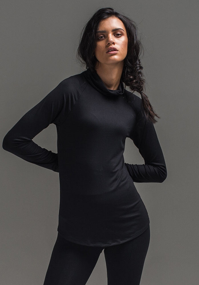 ALEX top black | Australian Bamboo Clothing