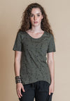 organic cotton tees, alana tee dill, ethical fashion australia, online womens fashion, online fashion australia, 100% made in australia