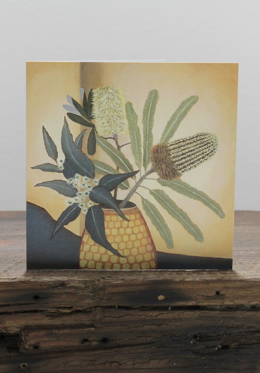 Banksia and Blossoms Card