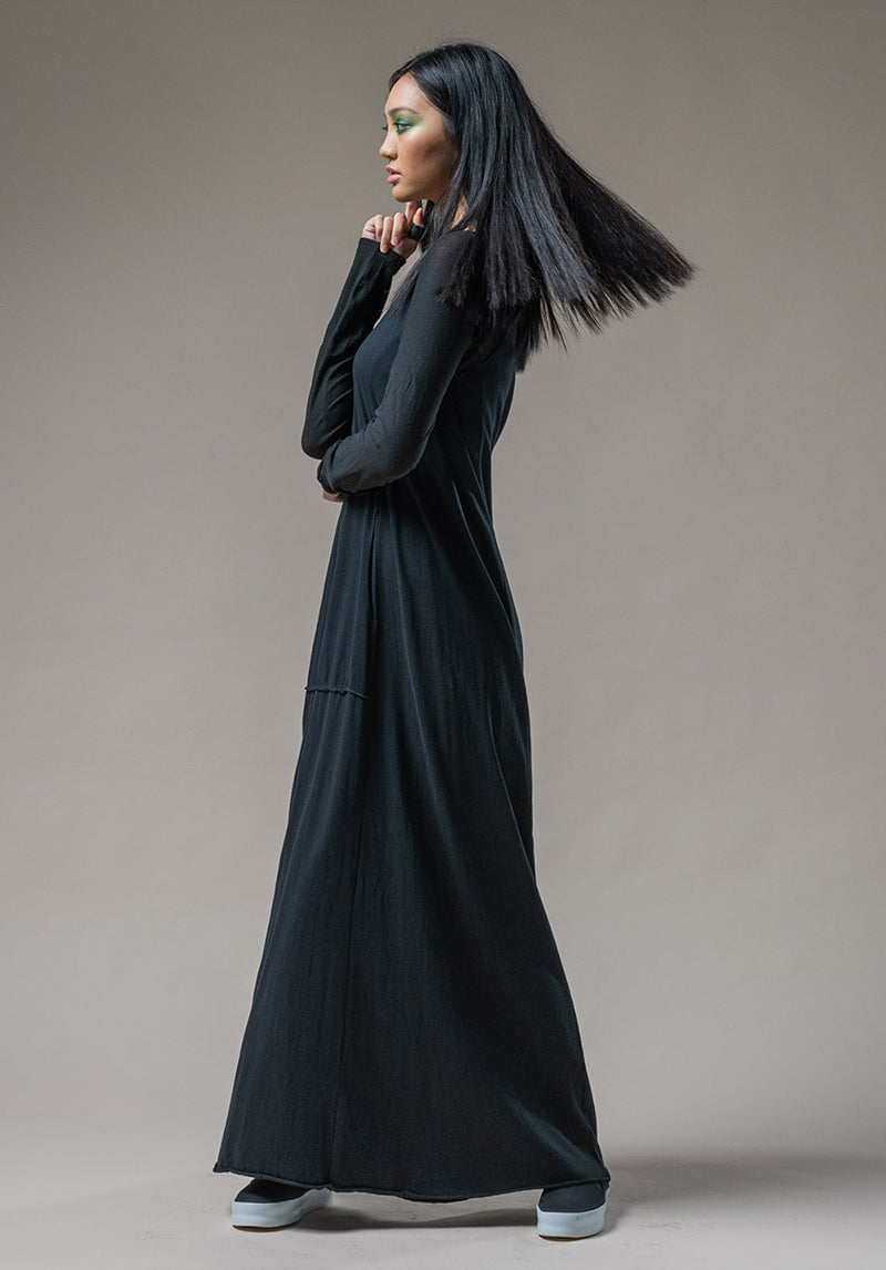 Blythe Maxi dress black