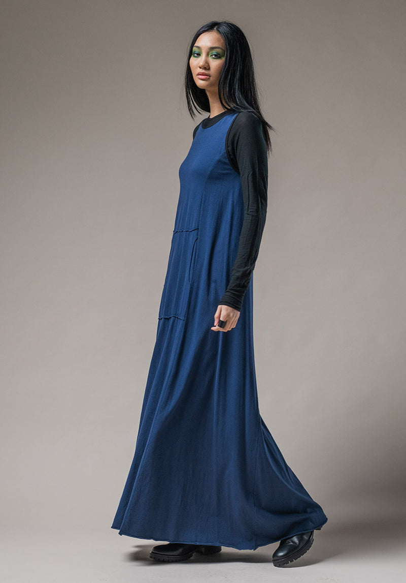 Blythe Maxi dress ocean