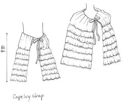 Cape Ivy wrap natural