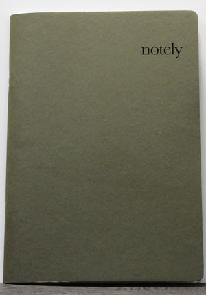 Cup Notes - Mustard & Olive A5 Notebook (Set of 2)
