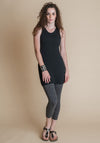 Daria tunic black