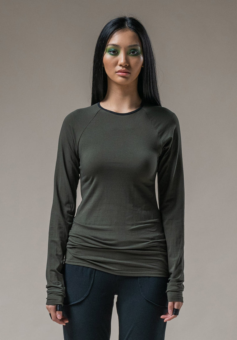 Dawn top olive