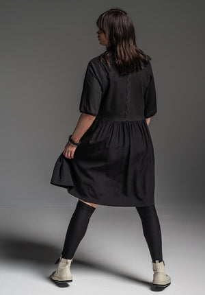 Druid dress black