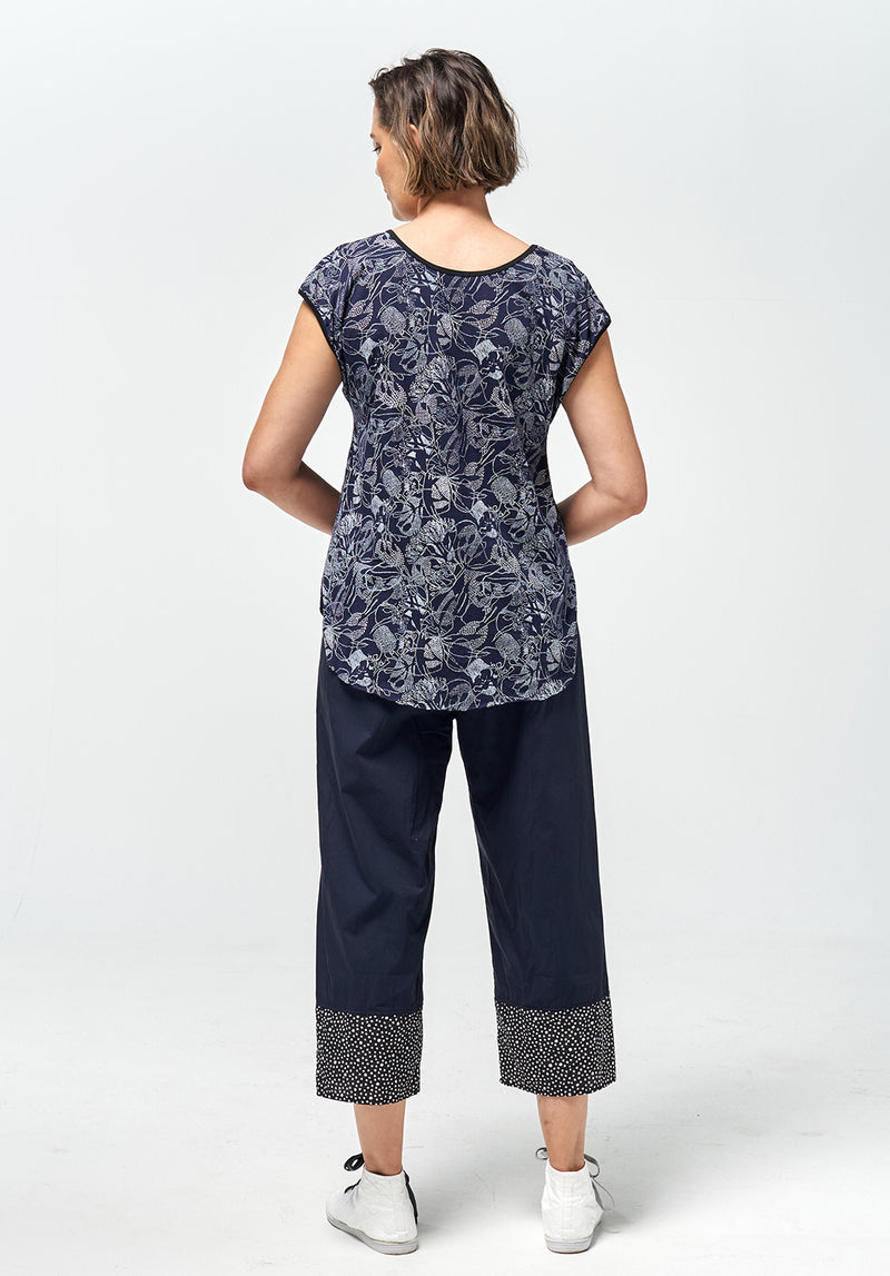 dusk top, australian made fashion, cotton summer tops, summer tops australia, ethical clothing online, sustainable fashion designer, store's for loungewear, loungewear australia