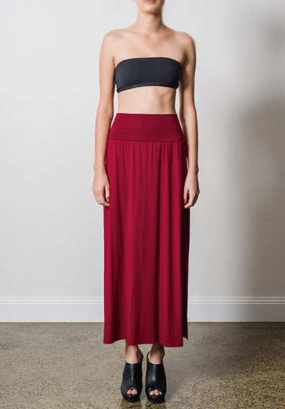 Emma skirt ruby
