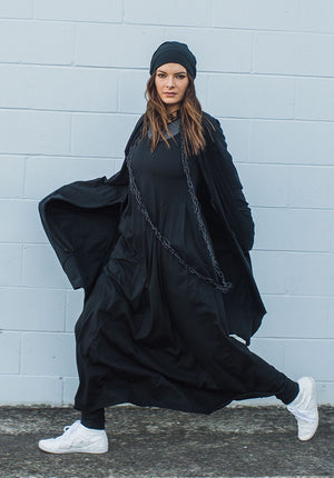 Faith maxi dress black