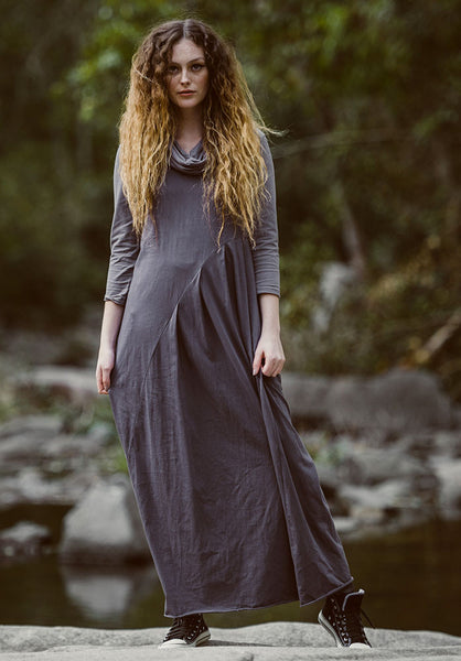 Faith maxi dress shadow