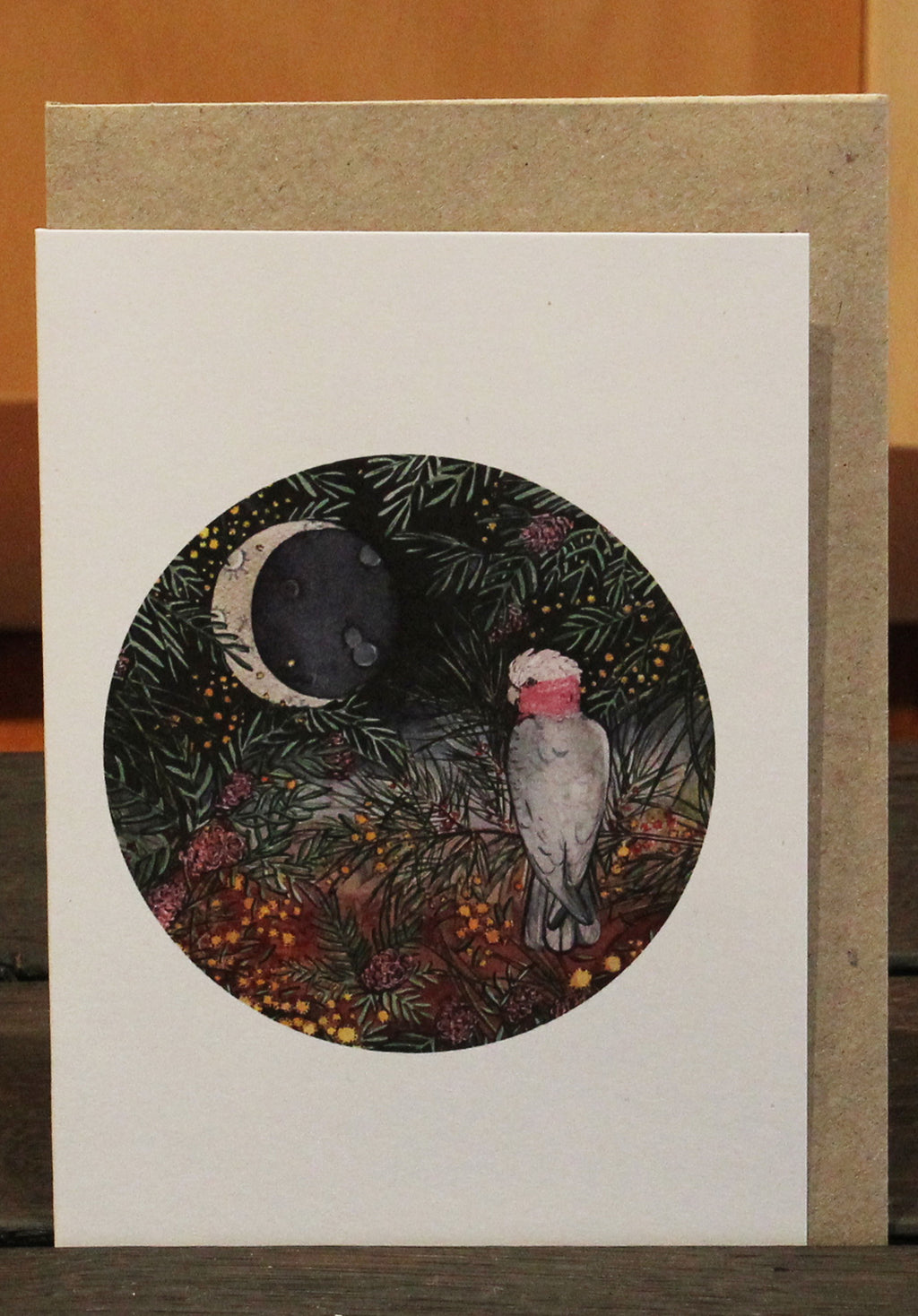 Galah Greeting Card