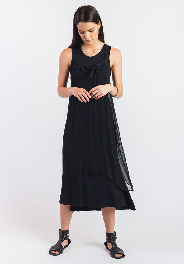 Obsidian dress black