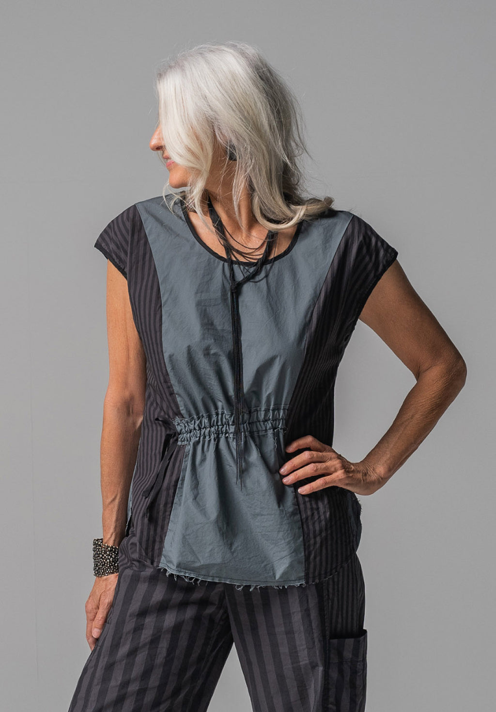 Ghost top grey cotton
