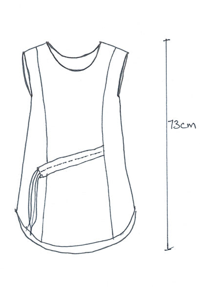 technical sketch, womens fashion sketch, ghost top, rant clothing, bestowed clothing, sustainable fashion,