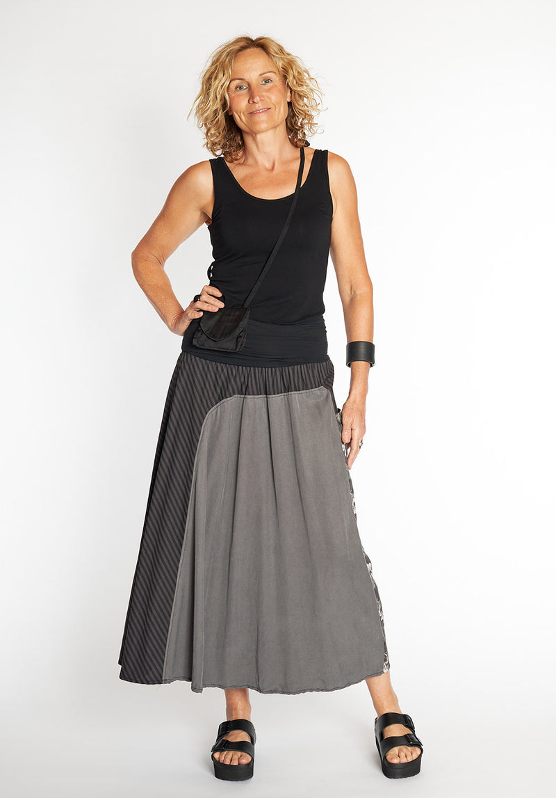 sustainable clothing online, australian made tencel skirts, australian made cotton skirts, australian fashion designer
