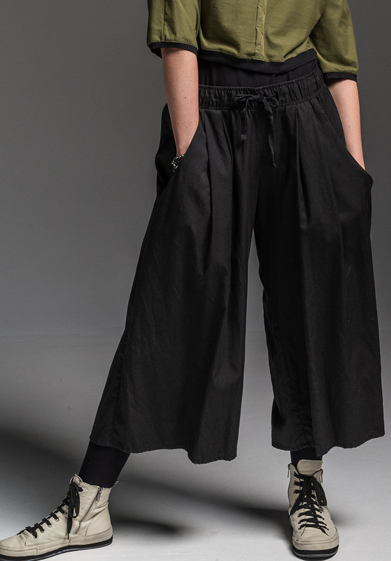 Grove pant black tencel cotton