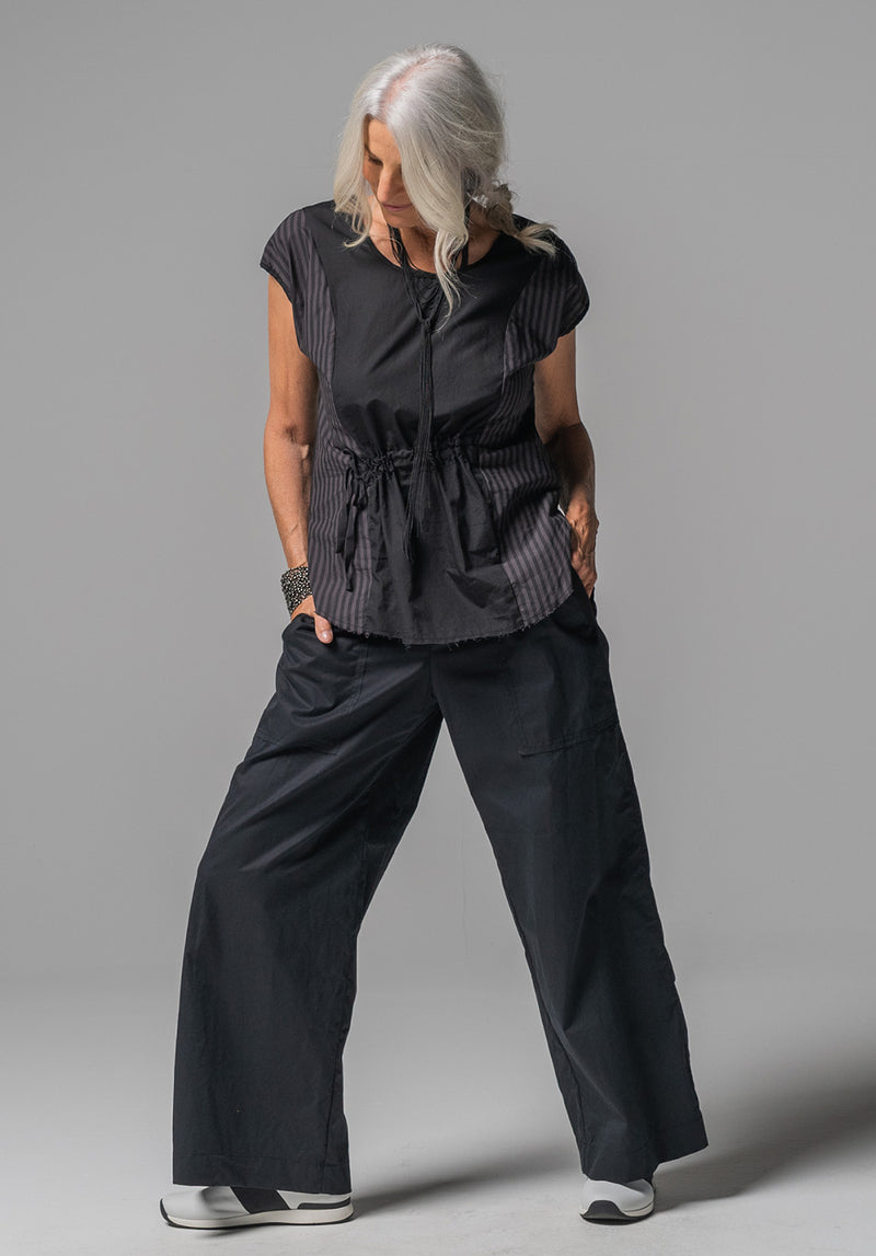 Helen pant black cotton
