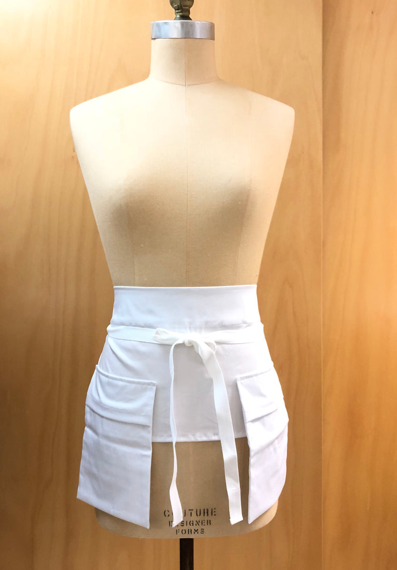Pocket Belt White