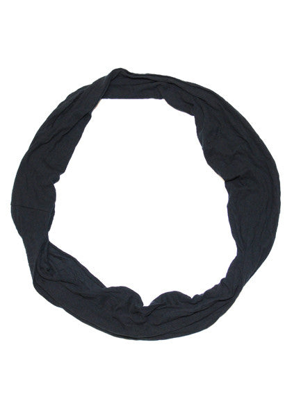 Loopy scarf black