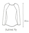 Multitude top taupe