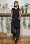 Nancy dress Black | Ethical Bamboo Clothing | Sustainable Fashion