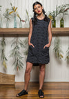 Nancy dress Storm grevillea | Eco-Friendly and Ethical Bamboo Fashion