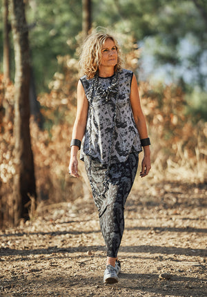 australian made bamboo fashion, printed tops australia, ethical clothing online